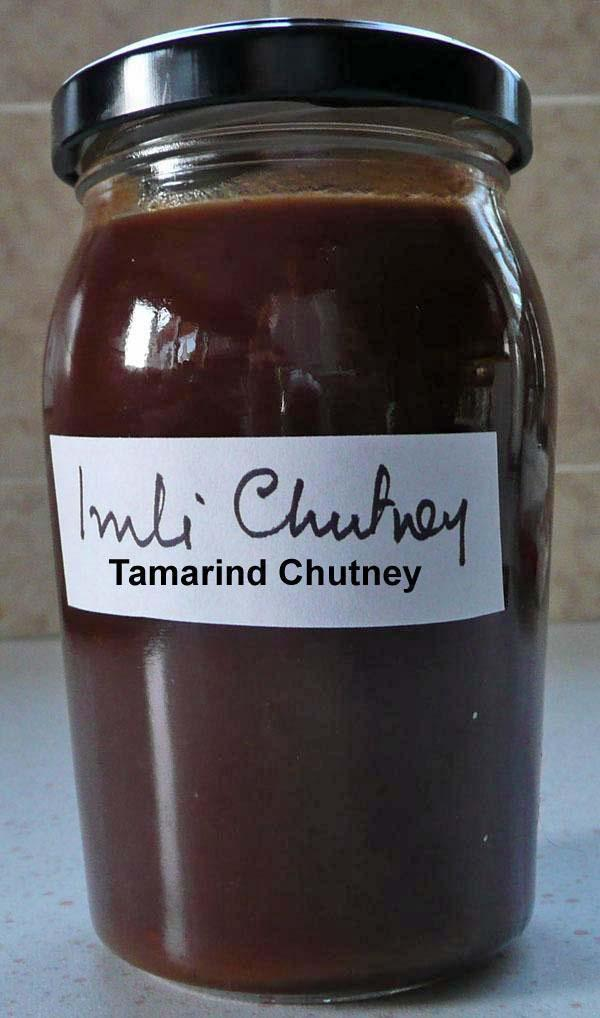 Tamarind Chutney or Sauce or Ketchup