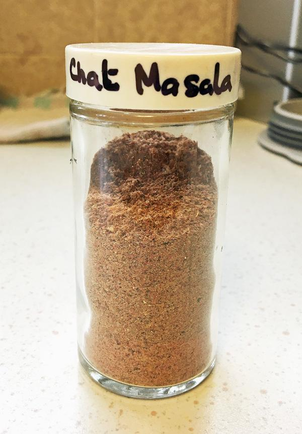 Chaat Masala Mix - A  Hot Spice Mix for Chaat