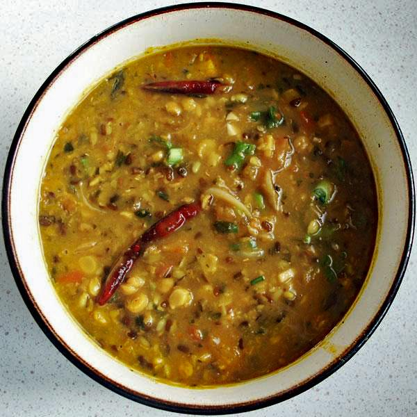 Channa and Urad Dal Mixed (Bengal Gram and Black Gram Dals)