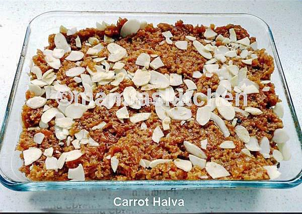 Carrot Halva & Burfi 2 Made With Skimmed Milk Powder