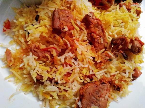 Jackfruit Biryani Rice