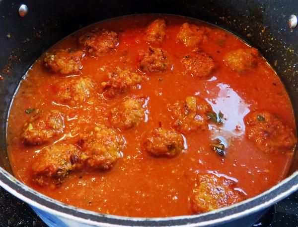 Meat Kofta Curry (Lamb or Beef or Pork) 2, Mamtas
