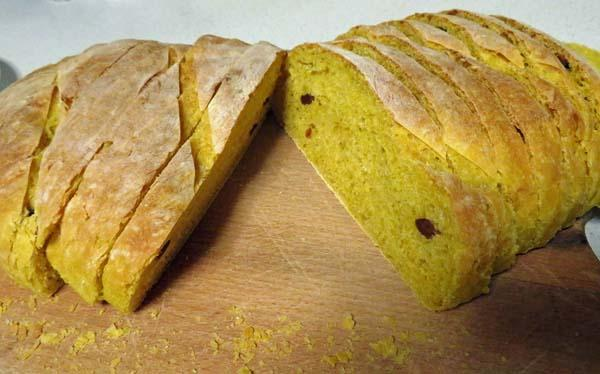 Bread Loaf with Turmeric & Variations