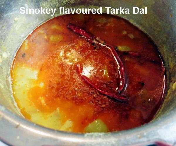 Tarka, How to Temper Dals For a Smokey Flavour?