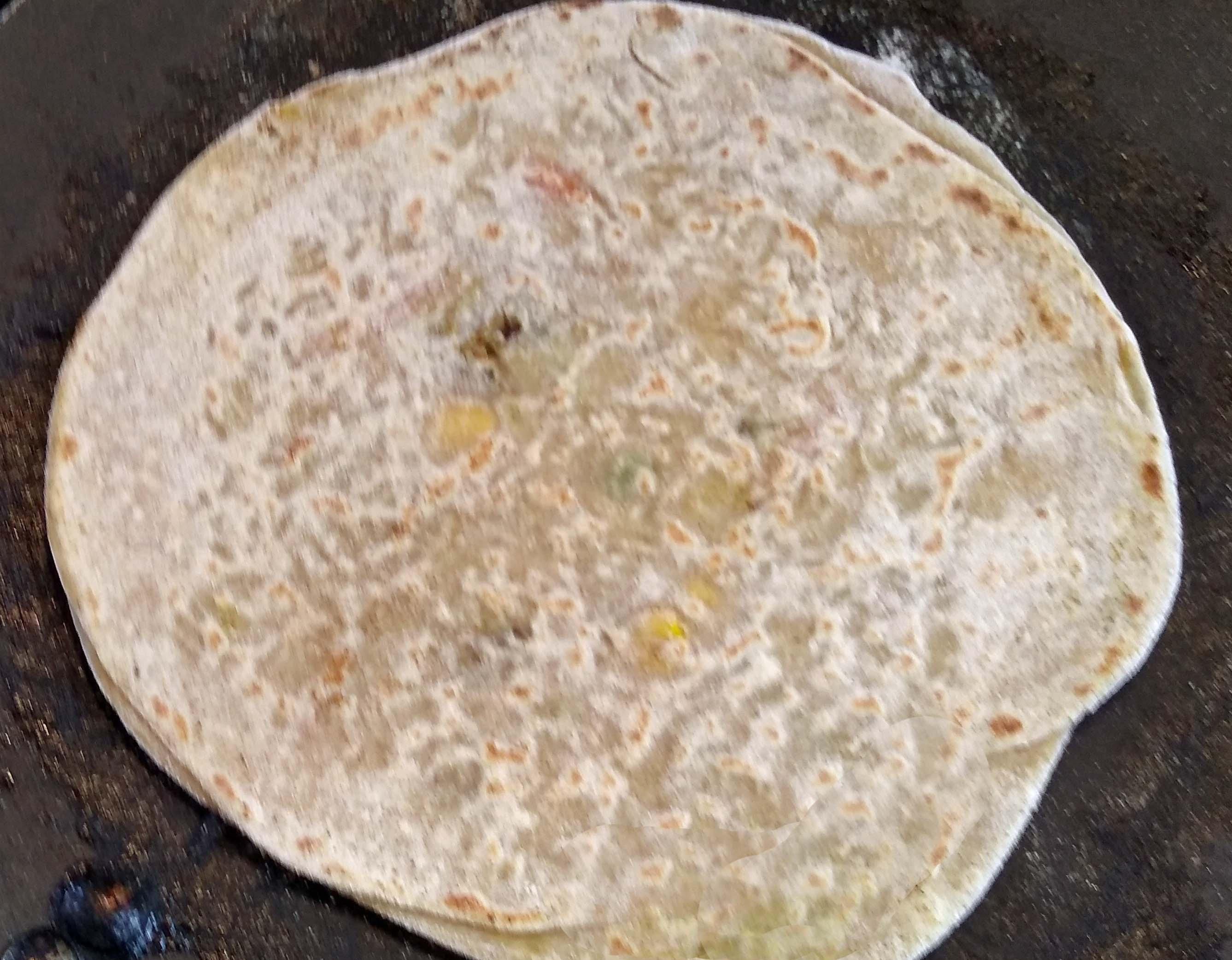 Rice Paratha-Paratha Stuffed With Leftover Rice