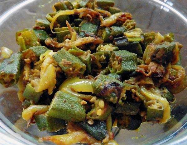 Basic Recipe For Vegetable Bhaji/Sabji 1, With Onions and Garlic